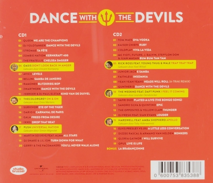 Dance with the Devils : officiële Rode Duivels-supporters-cd 2018