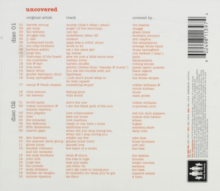Uncovered : 38 original versions of tracks