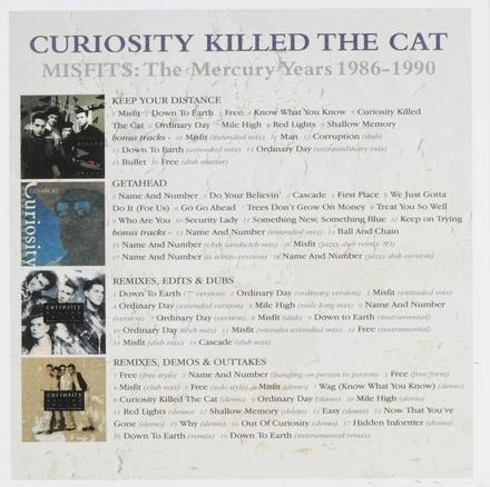 Misfits : The Mercury years 1986-1990