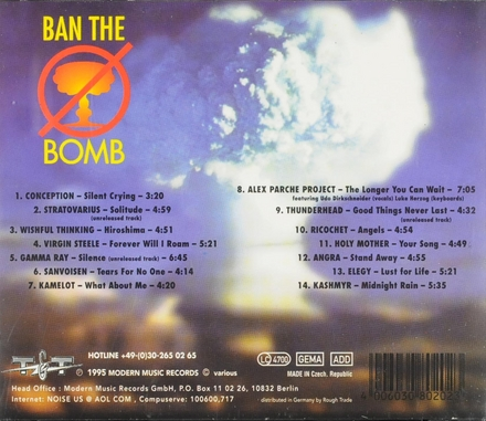 Silent crying : Rock ballads against nuclear terror