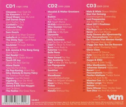 VTM : 30 jaar muziek