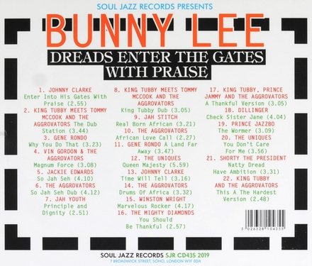 Bunny Lee dreads enter the gates with praise