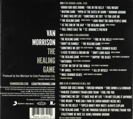 The healing game [3 disc deluxe edition]