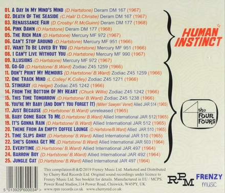 The Human Instinct & The Four Fours 1963-1968