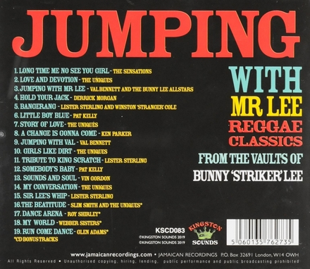 Jumping with Mr. Lee : Reggae classics from the vaults of Bunny 'Striker' Lee