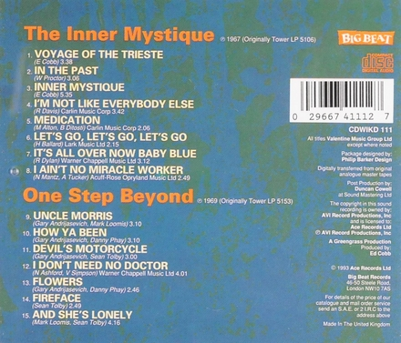 The inner mystique ; One step beyond