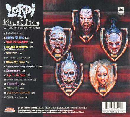 Killection : A fictional compilation album