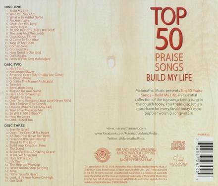 top 50 praise songs : Build my life
