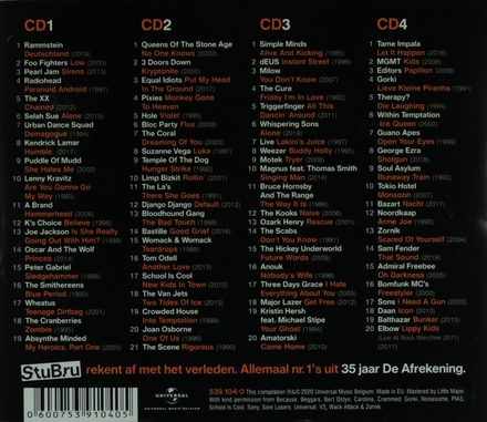 35 jaar De Afrekening [van] Studio Brussel : allemaal nr. 1's uit 35 jaar De Afrekening