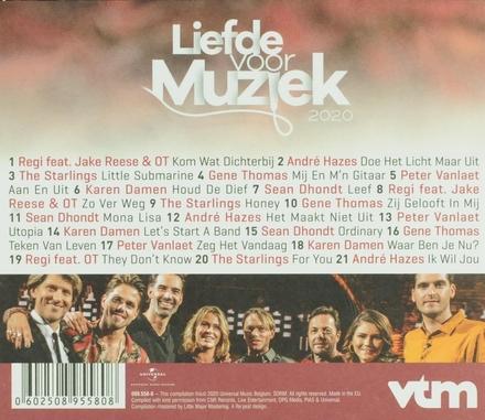 Liefde voor muziek 2020