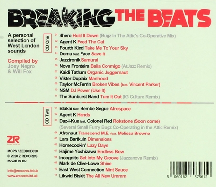 Breaking the beats : A personal selection of West London sounds