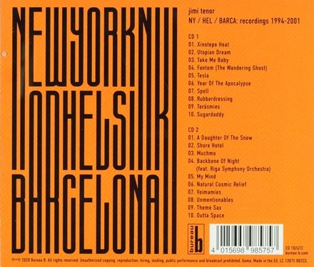 NY, Hel, Barca : recordings 1994-2001
