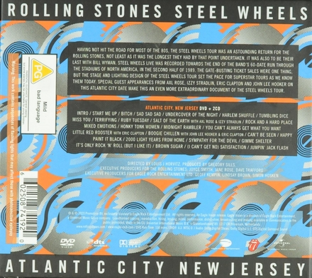 Steel wheels live : Atlantic City New Jersey [2 cd's]