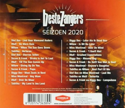 Beste zangers : seizoen 2020