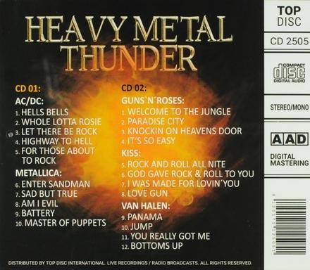 Heavy metal thunder : Rare & unreleased live recordings