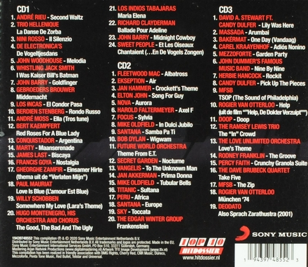 Top 40 hitdossier instrumentals