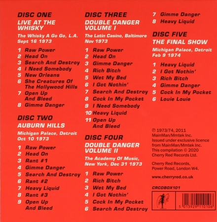 You think you're bad man? : The road tapes '73-'74