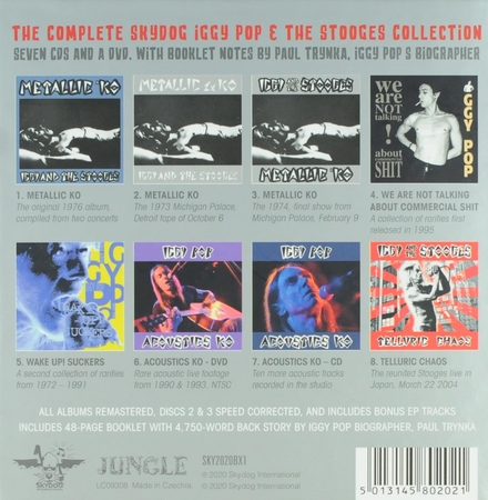 From KO to chaos :The complete Skydog Iggy Pop & The Stooges collection