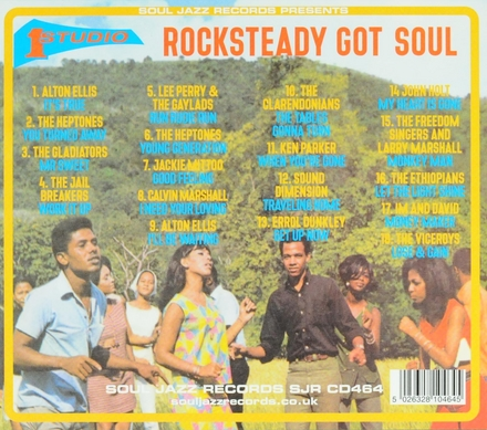 Soul Jazz Records presents Rocksteady got soul