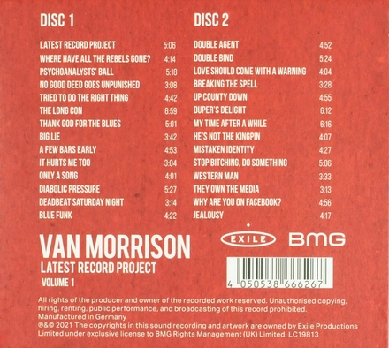 Latest record project. Vol. 1