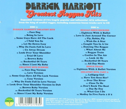 Greatest reggae hits