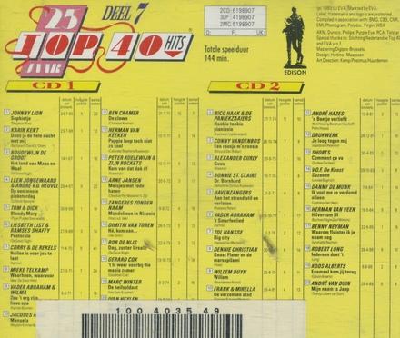 25 Jaar top 40 hits. Vol. 7, 1965/89