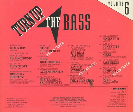 Turn Up The Bass : volume 6