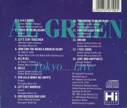 Tokyo...live! 1978