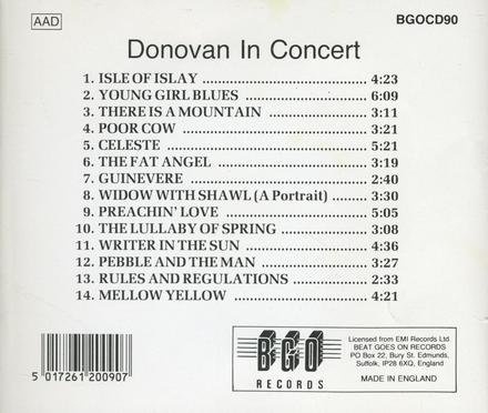 Donovan in concert