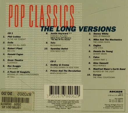 The long versions. vol.3 - tvcd