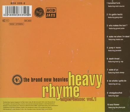 Heavy rhyme experience. vol.1