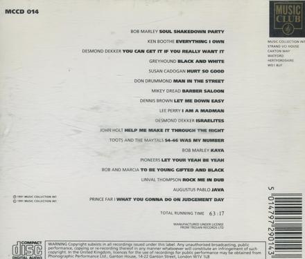Disc 1 : Roots Of Reggae
