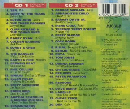 Nr.1 Top 40 hits uit de jaren 1965/91