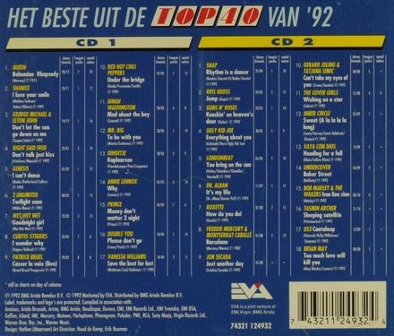 Het beste uit de top 40 1992