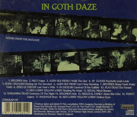 In Goth Daze