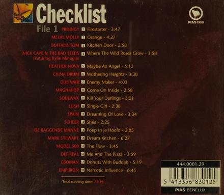 Checklist. vol.1
