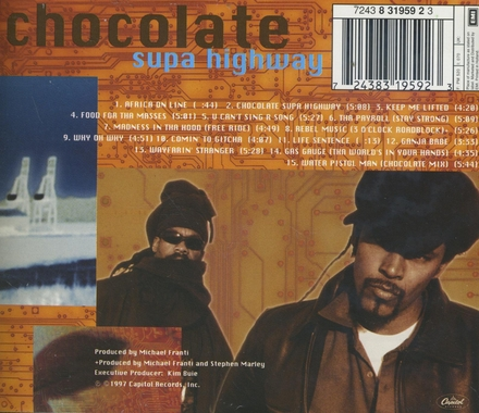 Chocolate supa highway