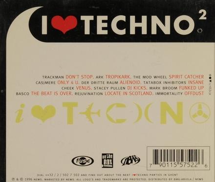 I love techno. vol.2