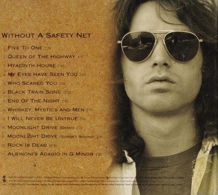 The Doors box set. Disc 1 : Without a safety net