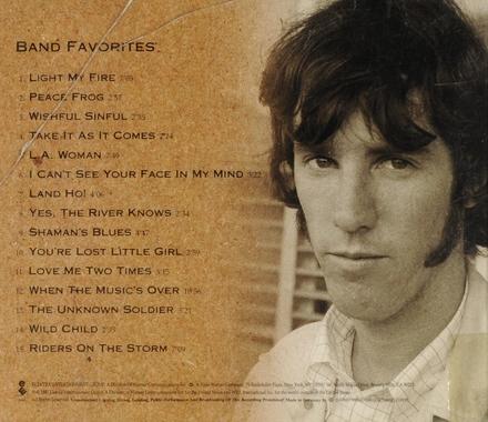 The Doors box set. Disc 4 : Band favorites