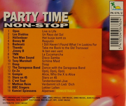 Party time non stop