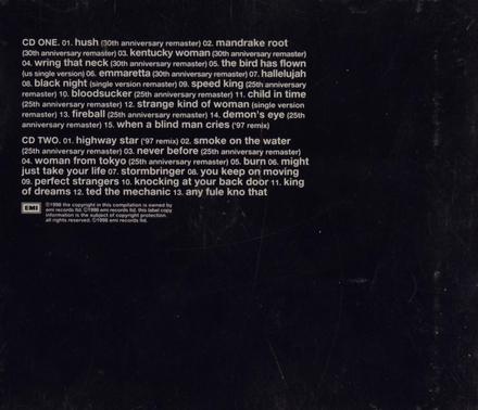 30 : very best of Deep Purple