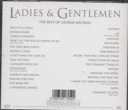 Ladies & gentlemen : the best of George Michael