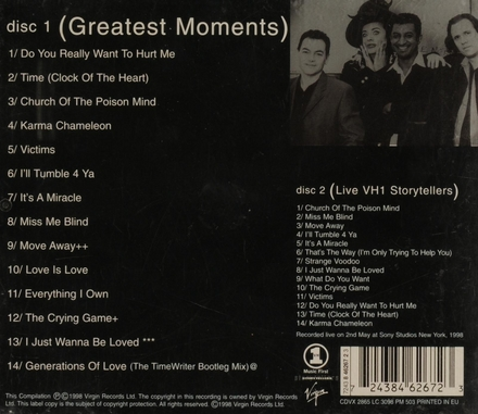 Great moments/VH1 storytellers