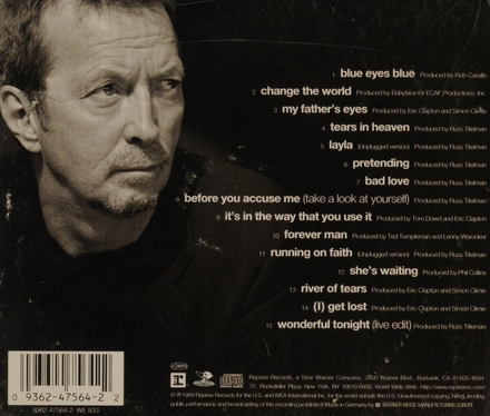 Chronicles : the best of Eric Clapton