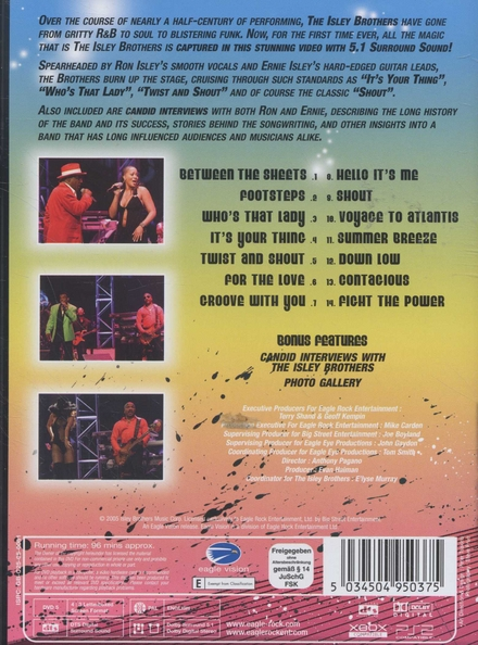 Summer breeze : greatest hits live