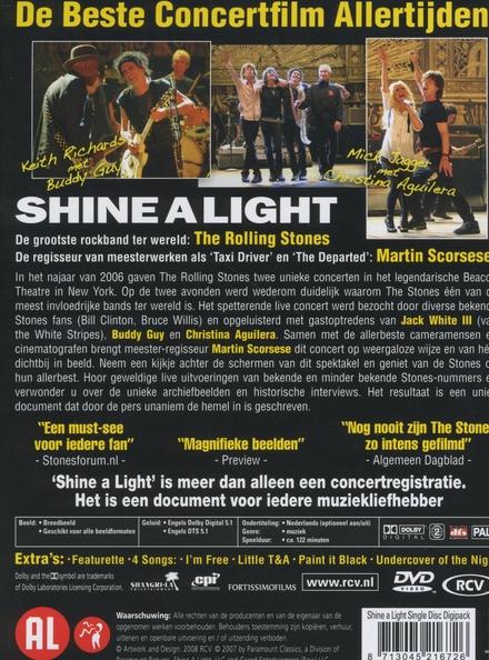 Stones Scorsese : shine a light