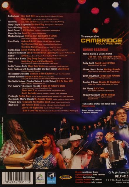 The co-operative Cambridge folk festival 2011
