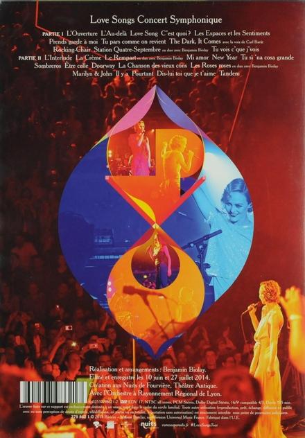 Love songs concert symphonique : le film