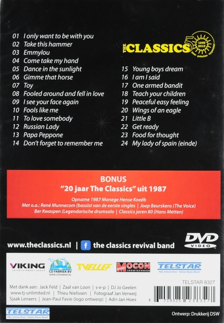 The Classics 50 1967-2017